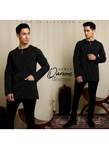 KURTA QAREEM in BLACK ONYX